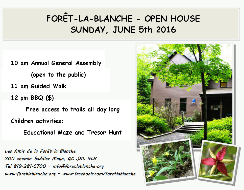 Open House of May 5th, 2016